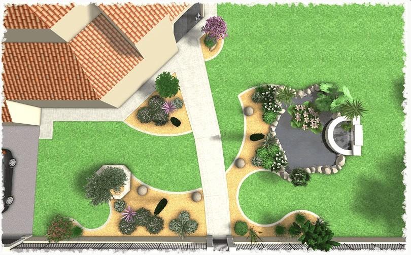 simulation jardin