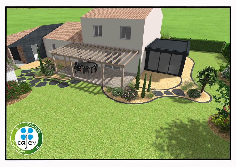 Simulation maison et jardin