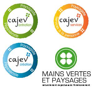 Cajev création, Cajev services, Cajev entretien